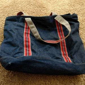🎀 3/$25 🎀 Denim bag from Target.  EUC.